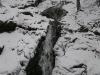 Huťský vodopád v zimě